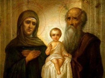 Симеон Богоприимец и Анна Пророчица