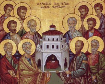 Апостолы - отцы веры и образцы для подражания