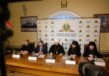 Брифинг по итогам работы Архиерейского Собора Русской Православной Церкви