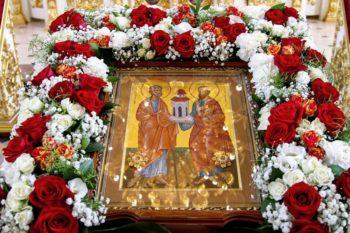 Светильники великия церкве – апостолы Пётр и Павел