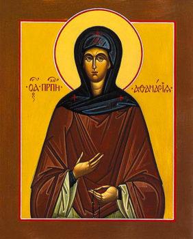 Преподобная Афанасия Эгинская - oбраз кротости и чистоты