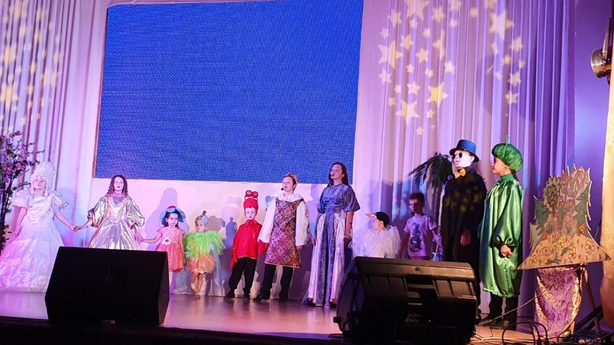 Спектакль православного театра «Огонёк»
