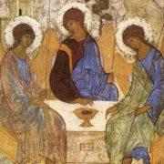 Пресвятая Троица. прп. Андрей Рублёв
